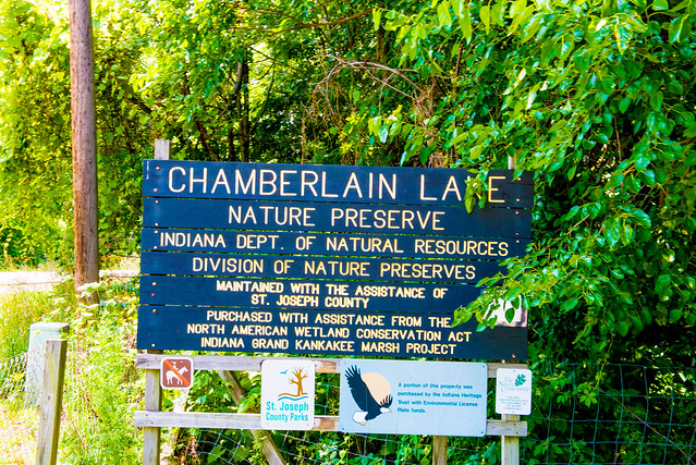 Chamberlain Lake Nature Preserve - July 4, 2017