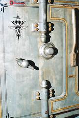 Safe (Jetcraftsofa) Tags: nikonf3 nikkor5014 sb17 proplus200 35mm filmphotography flashphotography vault safe steel