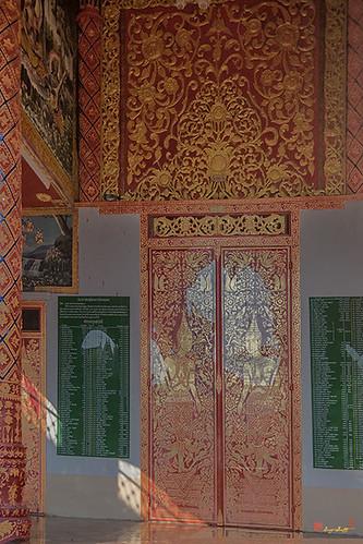 Wat Chetuphon Phra Wihan Center Doors (DTHCM1323)