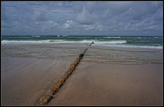 Sylt  -  An der Buhne (germanweather) Tags: natur meer strand buhne sylt
