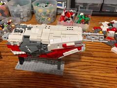 WIP - No. 2 (UrAsSaneAsIAm) Tags: lego s spaceship wip