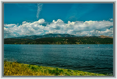 Carter Lake (Jmarie999) Tags: clouds lake water blue mountain lovelandco ftcollins co