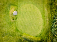 12th Green | Golf House Club | Elie (Bertie Allison) Tags: dji spark drone aerial elie fife visit scotland golf course golfhouseclub links seaside