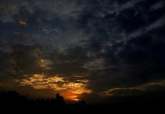 Last movement of sunset. (Meraj.) Tags: lastmovement evening iphonephotography colours mobilephotography landscape photography appleiphone iphone6s iphone sun clouds karnataka bangalore asia india sunset