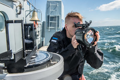 SNMCMG1 VESSELS SAILS WITH SWEDISH NAVY MINEHUNTERS IN THE BALTIC SEA (NATO HQ MARCOM) Tags: marcom sweddishnavy nato snmcmg1 standingnatominecountermeasuresgroupone alliedmaritimecommand