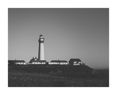 Pigeon Point | Lighthouse (trionaberger) Tags: blackwhite bw pigeonpoint lighthouse seaside skancheli