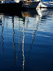 Paint Me A Picture (M L Hannah) Tags: reflection water blue tones likeapainting marina ocean mast boats nature victoria ripples boat sailboat sailing harbour