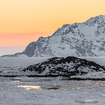 East Greenland after sunset thumbnail