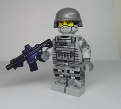 Very Special Ops! - BrickArms M4-SBR (enigmabadger) Tags: brickarms lego custom minifig minifigure fig weapon weapons accessory accessories combat war modern battle