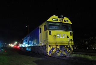 BL27 and G520 are shutdown in Murtoa under the stars