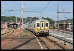 NMBS 659 - R 5008 (Spoorpunt.nl) Tags: 18 juni 2017 nmbs 659 ms66 stoptrein trein r 5008 station gare pepinster klassiek motorwagen cityrail 981 5279