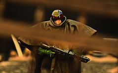 Judge Dredd (RK*Pictures) Tags: toy actionfigure collectible judgedredd lawenforcementofficer law iamthelaw judge future megacityone diorama comicbook movie arrest convict sentence criminals execute violence brutal blood streetjudge police order lawgiver weapon ammunition palmprint jaw mouth lawmaster daystick helmet badge faceless johnwagner carlosezquerra 2000ad sciencefiction dystopia punishment jury executioner dredd megalopolis patrol city mezco one12 one12collective fictional judgejosephdredd authoritarianism ruleoflaw policestate bootknife gasgrenades facelessnessofjustice facelessness dna chiefjudgefargo judgesystem grandhallofjustice dread duty force futuristic pauldron cursedearth