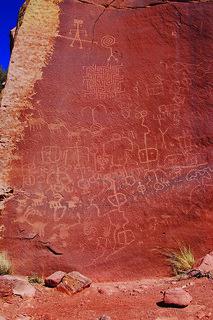 Vermilion Cliffs National Monument - Maze Petroglyphs
