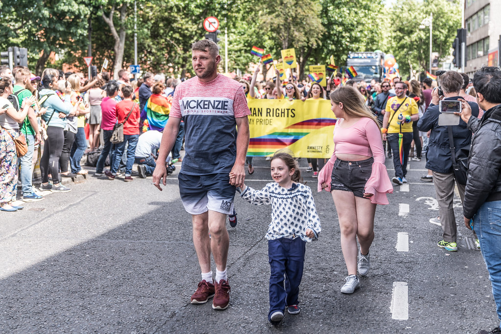 LGBTQ+ PRIDE PARADE 2017 [ON THE WAY FROM STEPHENS GREEN TO SMITHFIELD]-130104