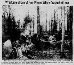 The_Salem_News_Fri__Mar_20__1942_ (SixbyFire) Tags: armel kennedy eugene anderson earl houser edward saunders lima ohio p39 p39f aviation archaeology wreckchasing army air corps airacobra bell aircraft airplane crash accident survey allencounty 1942