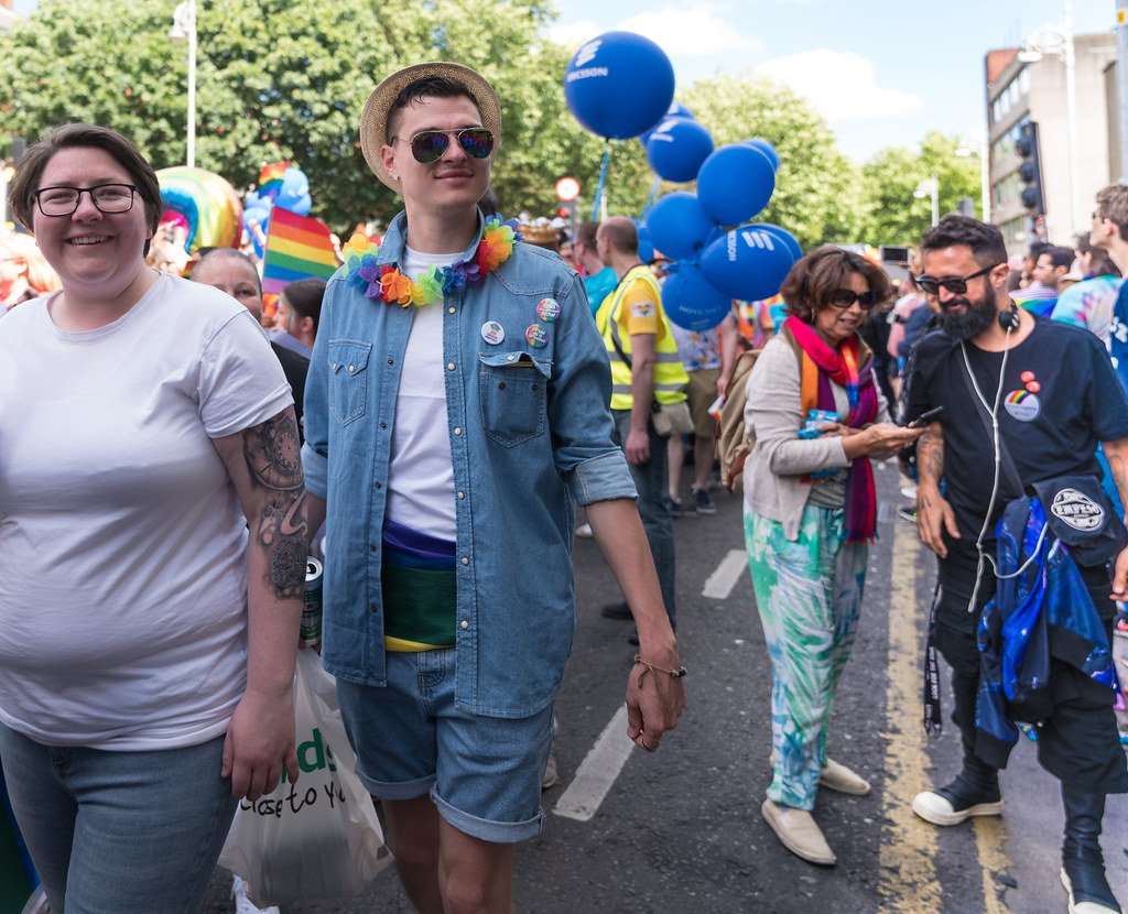 LGBTQ+ PRIDE PARADE 2017 [ON THE WAY FROM STEPHENS GREEN TO SMITHFIELD]-130102
