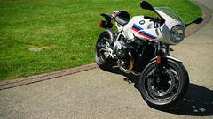 BMW R nineT (Eric Flexyourhead) Tags: northvancouver canada britishcolumbia bc waterfrontpark 2017 germancarfestival german bike motorbike motorcycle motorrad bmw bmwmotorrad bmwrninet 169 sonyalphaa7 zeisssonnartfe55mmf18za zeiss 55mmf18