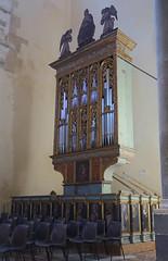 Free-standing organ pipes (Badly Drawn Dad) Tags: cefalù geo:lat=3803975312 geo:lon=1402359108 geotagged ita italy sicily byzantine cathedral chiesa duomodicefalù foundedin1131 norman