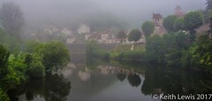 Larnagol in the mist (keithhull) Tags: larganol lotvalley village riverlot mist fog reflections lot france explore