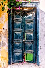 Parikia, Paros (Kevin R Thornton) Tags: d90 nikon travel parikia mediterranean greece locked door architecture paros egeo gr