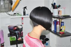 Bob cut (mariah.guard) Tags: aline fashion hairstyle haircut hairdresser bangs nape hair short shave sexy mode outfit girl heels belt cut cute buzz bowlcut bobcut buzzed