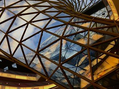 MyZeil Future Architecture (pan_orama) Tags: architecture frankfurt zeil color future glass shoppingcentre germany