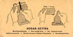 Kodak Retina - Every-ready Case Instructions (TempusVolat) Tags: garethwonfor tempusvolat gareth wonfor tempus volat mrmorodo kodak retina instructions manual userguide guide everready case hands