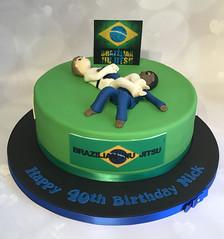 Ju Jitsu Cake
