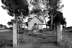 Kangaroo Flats Church (Macr1) Tags: 61403327236 abandoned architecture australia building builtenvironment camera church conditions d810 day default dilapidated disused exteriors filters historic itemcondition lens location markmcintosh miscellaneous nikon nikond810 nikongpsunitgp1a nikonpcenikkor19mmf4eedtiltshiftlens old outdoor overcast ruraldecay rust sa southaustralia structure macr237gmailcom ©markmcintosh 1866 bw blackwhite methodist