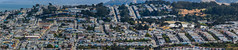 second valley panorama (pbo31) Tags: bayarea california nikon d810 color june spring 2017 boury pbo31 sanfrancisco city urban over view bernalhillpark bernalheights portoladistrict rooftops neighborhood valley panoramic large stitched panorama