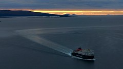 over the sea (Edinburgh Nette ...) Tags: ferries transport sunsets skye september17 seascapes october16