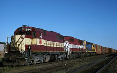 Working the CP (ac1756) Tags: wisconsincentral wcl wc emd sdl39 584 saultstemarie ontario canada
