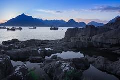 Blue Hour, Elgol (S i m o n . M a y s o n) Tags: elgol blue hour skye dusk light landscape seascape dramatic