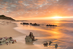 Lost in the moment (Images by Ann Clarke) Tags: eyrepeninsula southaustralia coastline nisisfilters ocean pastel pointboston rocks sand sunrise
