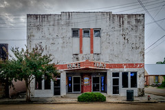 The Trace Theater - Port Gibson, MS. (Mr. Pick) Tags: trace theater portgibson ms mississippi cinema movie westside