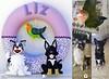 """Guirlanda """"Meus Pets"""" Modelo 2 (LuaArteira) Tags: guirlanda feltro decoração decoracao quarto bebe bebê nascimento maternidade felt porta lua arteira luaarteira"""