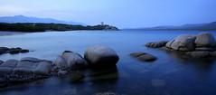 Quiet evening / Soirée calme (dbrothier) Tags: pianottoli corse corsica kalliste eos6d canonef1740mmf4lusm longexposure seaside rochers rocks figari 7dwf 6d