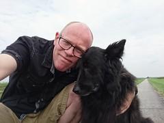 Nila 🐕 (Jos Mecklenfeld) Tags: nila dutchshepherddog dutchshepherd shepherddog shepherd hollandseherdershond hollandseherder herder herdershond hond sonyxperiaz5 dog hund xperia selfie