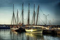Veleros (candi...) Tags: barcos veleros puerto mar ametllademar cielo nubes agua airelibre sonya77