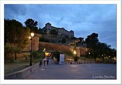 Murallas del Paseo de Recaredo, Remonte Mecánico y Diputación Provincial- Toledo (Lourdes S.C.) Tags: ciudad murallas nocturna monumentos escalerasmecánicas toledo