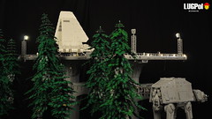 078 - Rear view (dmaclego) Tags: lego star wars forest sanctuary moon endor project return jedi moc