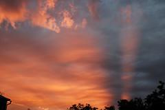 Golden ray of sunshine (Alexis2k) Tags: ray луч sunset закат небо вечер evening eveninglight sky novosibirsk новосибирск