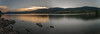 Una tarde tranquila. (Amparo Hervella) Tags: embalsedelapinilla comunidaddemadrid roca naturaleza nube reflejo panorámica españa spain montaña color largaexposición d7000 nikon nikond7000 comunidadespañola