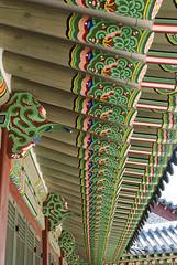화성행궁, Hwaseong Haenggung Palace, Suwon, South Korea (Tiphaine Rolland) Tags: 화성행궁 hwaseonghaenggung palace palais hwaseong suwon coréedusud corée southkorea korea nikon nikond3000 d3000 spring printemps asia asie 대한민국 수원시 수원 toit roof