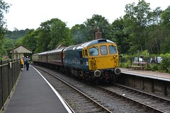The Churnet Valley Railway (1) (lewispix) Tags: class33 33102 sophie railway diesel