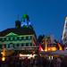 Illumination zum Altstadtlauf (explored) (jmwill2005) Tags: herrenberg altstadt illumination stiftskirche glucke gäu lauf altstadtlauf rathaus beleuchtung blaue stunde