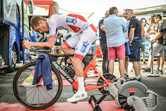 Championnats de France 2017 #Behind the Scene (equipecyclistefdj) Tags: chrono hometrainer échauffement