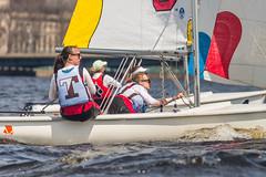 2017-04-16 Sailing at B.U. 021 (consolecadet) Tags: boston bostonuniversity cambridge charlesriver daily mollypleskus river sabrinavanmell sailing sports tufts watersports women womens