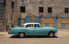 Baby Blue [Cuban Project 030] (Leon.Antonio.James) Tags: 35mm 35mmfilm 28mmf28 analog analogue beliveinfilm buyfilmnotmegapixels color cinematic cuba dustgrainandscratch film filmisalive filmisnotdead filmsnotdead grain havana ishootfilm ilovefilm ifyouleave kodak longlivefilm classic