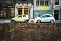 head (ewitsoe) Tags: head woman life street city cityscpe dumpster blond ewitsoe erikwitsoe canon eos5ds sigma lady tram stop cityscape urban polska poland europe spring